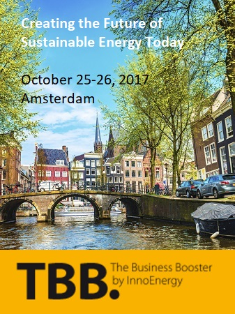 Energy Sustainability conference startup finance investment