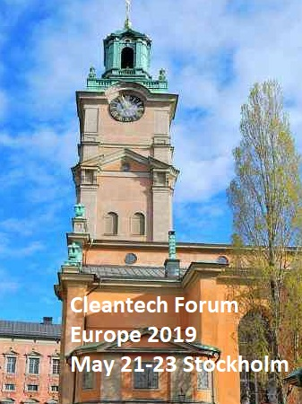 Cleantech Forum Europe 2019